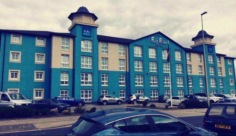 Big Blue Hotel, Blackpool
