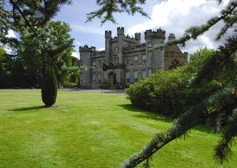 Scenic view of Airth Castle Hotel & Spa taken from the gardens.