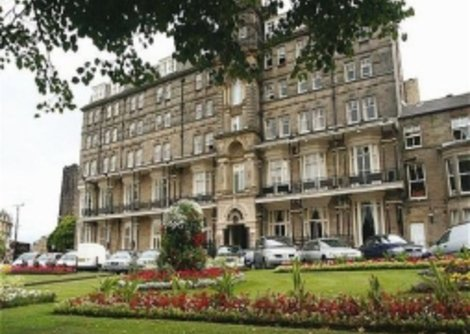 the Yorkshire  Hotel is located in the centre of Harrogate & opposite Bettys Tea Room.