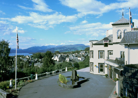 The Windermere Hydro overlooks the lake  in Bowness. Is one of the Lake Districts best prices 3* hotels
