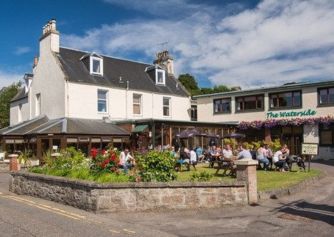 The Waterside Hotel Inverness city centre is a 3* hotel positioned on the banks of the River Ness
