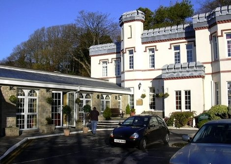 Stradey Park Hotel, Llanelli in South Wales  is a 4 star hotel with lovely views