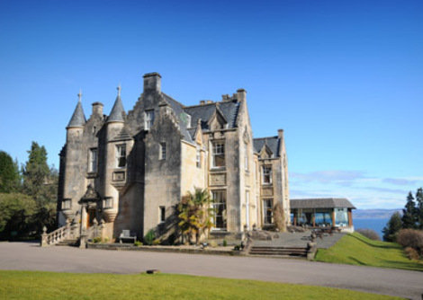 Stonefield Castle Hotel in Tarbert