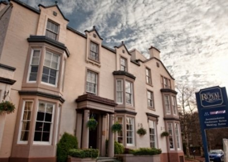 Royal Hotel Bridge of Allan is near Stirling and the University. Great all year round offers available