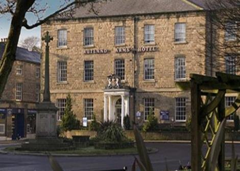 The Rutland Arms Hotel, Bakewell is a typical Peak District Hotel with loads of character.