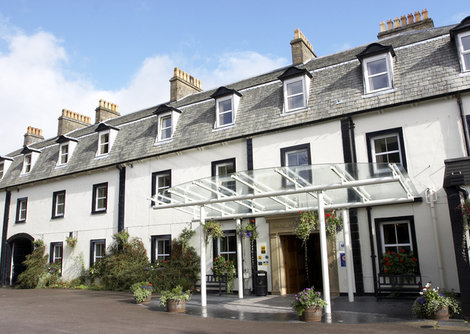 Shap Wells Hotel, by Penrith