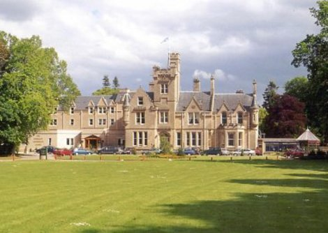The Newton Hotel Is A Baronial Style Set In Own Grounds Leading Down To