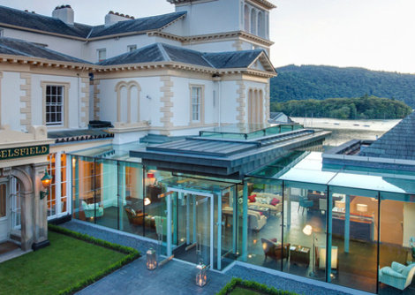 The Laura Ashley Belsfield Hotel is a top quality 4* hotel in Bowness in Windermere, Lake District. It has a superb location with 6 acres of gardens leading down to Lake Windermere and the centre of Bowness is only a couple minutes walk away