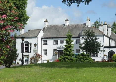 The Gretna Hall hotel in Gretna is a country house hotel set in beautiful gardens.