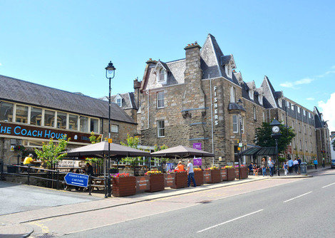 Fishers Hotel in Pitlochry