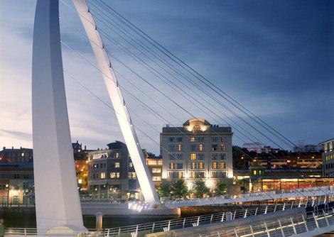 Malmaison Newcastle, Newcastle