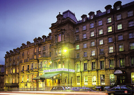 Royal Station Hotel , Newcastle
