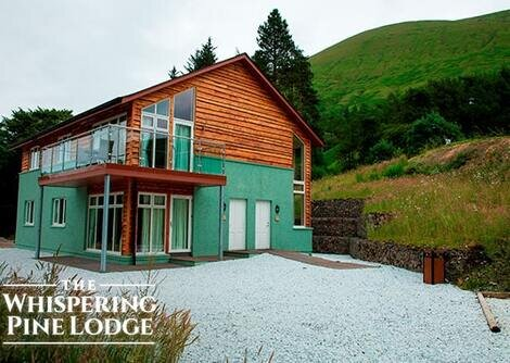 Whispering Pine Lodge - Self Catering Log Cabins, Spean Bridge
