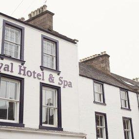 Late Deal DBB + Wine Royal Hotel Forfar