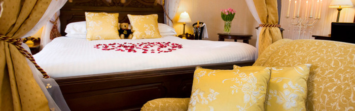 Romance your partner in some of the most romantic hotels in the UK.